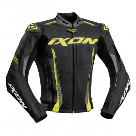 Ixon Vortex Jacket Black/Grey/Yellow