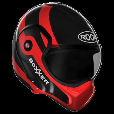 Roof Boxxer Fuzo Black/Red