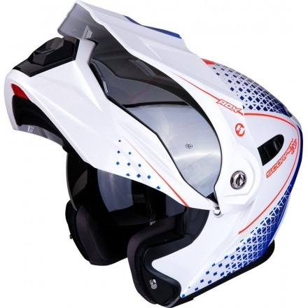Scorpion Adx-1 Horizon White/Red/Blue