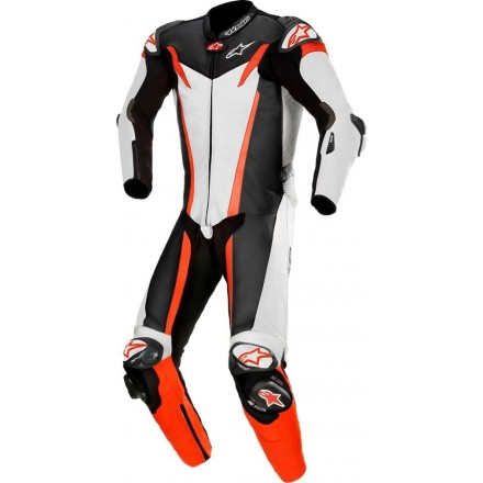 Alpinestars Gp Tech V3 White/Black/Red Fluo
