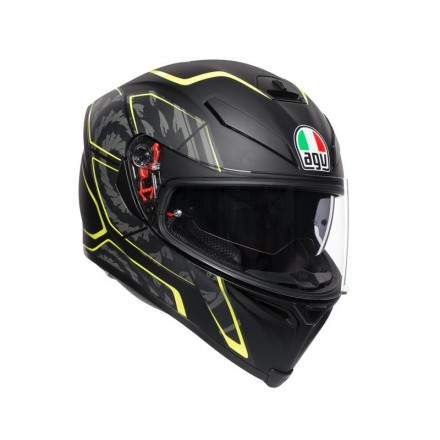 Agv K-5 S Tornado Yellow
