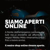 SIAMO APERTI ONLINE 🛒 ⚠️ A causa dell'emergenza sanitaria che tutti noi ci troviamo ad affrontare, i negozi Hobby Moto rimangono chiusi fino a nuovo avviso. ⚠️ www.hobbymoto.ch  #StoACasaConLaMoto