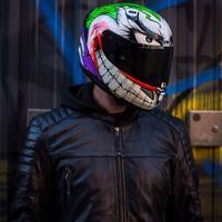 """ la follia, come sai, è come la gravità: basta solo una piccola spinta"" Cit. Joker🃏 🟣  #hobbymoto #ciaobiker #weekend #hjc #hjchelmets #hjcjoker #rpha11 #moto #motorcycle #motohelmet #batman #motorcycle #moto #bikelife #yamaha #motorbike #r #bike #biker #honda #harleydavidson #motorcycles #kawasaki #bikersofinstagram #ktm #suzuki #ride #instamoto #motor"