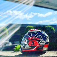 Arai Rx-7 V Pedrosa Spririt Blue 🔵  #arai #araihelmet #rx7v #pedrosa #spiritblue #hobbymoto #ciaobiker #swissbiker #helmets #japan #bikelife #motogp #superbikers #superbike